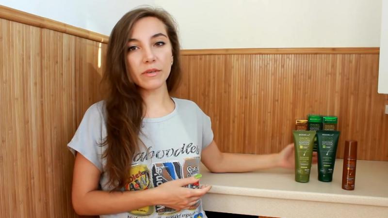 Обзор шампуня, бальзама и сыворотки против выпадения NATURE.med от beauty-блогера Тищенко Лилии