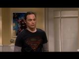 А попозже зайти не мог?! Шелдон заходит к Пенни в ванной шелдон купер теория большого взрыва тбв прикол