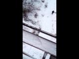 прыжок с моста на тросе