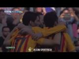 Малага 0:1 Барселона. Мунир. 2 минута