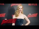 Deborah Ann Woll on Karen Page - Marvel's Daredevil Season 2 Red Carpet