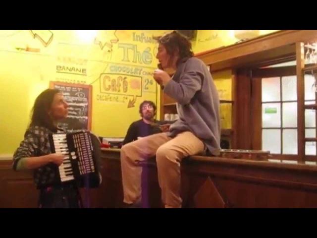 La Boca Abierta - Instantanés - Chansons improvisées au bar du TCI, Paris -1