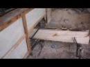 Самодельная ленточная пилорама видео