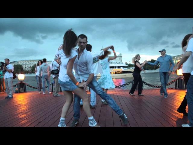 Офигенные танцы на фоне грозового неба. Хасл ОпенАйр