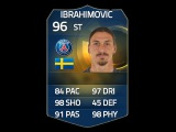 FIFA 15 TOTS IBRAHIMOVIC 96 Player Review & In Game Stats Ultimate Team