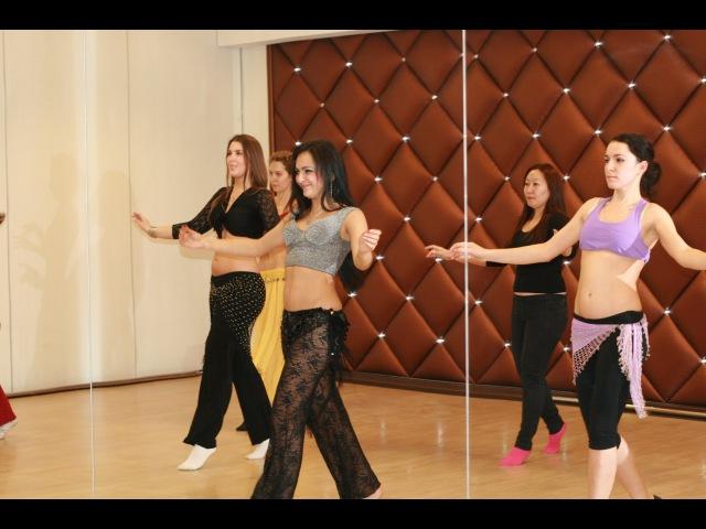 Танец живота. Видео урок №2 для начинающих с нуля. (Мира)