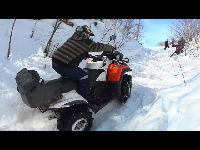 КРУТЫЕ ГOРКИ И КВАДРОЦИКЛЫ ! ATV Baltmotors, Сan am BRP, Yamaha Grizzly и CFMOTO.