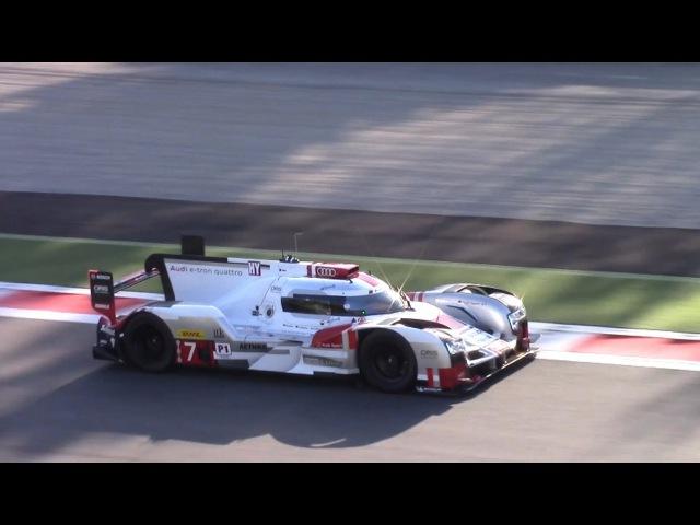 330km/h 2015 Audi R18 E-Tron Quattro Le Mans Kit @ Monza Circuit!