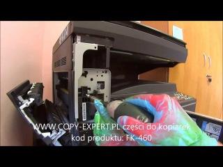 Wymiana zespołu grzejnego KYOCERA-MITA TASKAlfa 180 181 220 221 FK-460 FK460