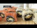 Как Приготовить Вкусные Суши Дома Филадельфия Калифорния Мой ДОМАШНИЙ РЕЦЕПТ Sushi Recipe