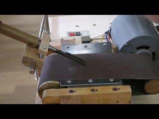 Самодельный мини станок для заточки инструмента сделанный своими руками Столярные хитрости 2015