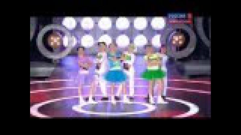 HQ JESC 2012 Russia: Show-band Delfin - hip hop (Live - National Final)