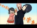 【Naruto】Sasuke Sarada『Poka Poka』