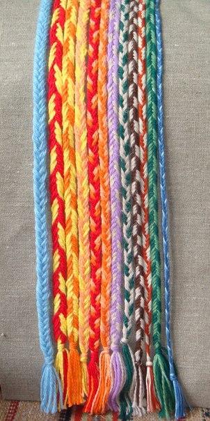 Плетение дёрганьем - один из