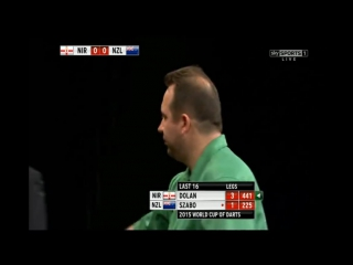 Northern Ireland vs New Zealand (PDC World Cup of Darts 2015 / Second Round)