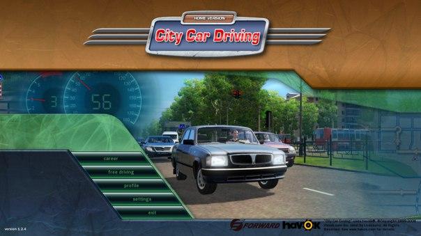 City Car Driving 1.4 кейген