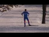 Техника конькового хода на лыжах и лыжероллерах