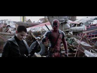 Дэдпул - Русский Трейлер 2 | Deadpool — Red Band Trailer 2 в русской озвучке [Рифмы и Панчи]