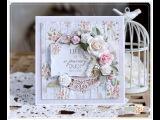 Romantic Card Tutorial - Life is a journey Emilia Sieradzan