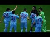 Salih Dursun giving Red Card to Referee vs Galatasaray