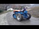 Trattore Lamborghini cingolato su tractor on tires Homemade CONSTRUCTION