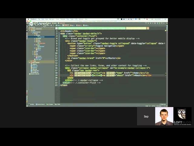 NgRoute и AngularUI Router —Открытый вебинар по Angular.js (10.06.2015)