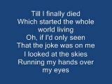 I started A Joke lyrics The Bee Gees