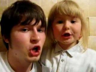 Брат и сестра - фристайл под битбокс