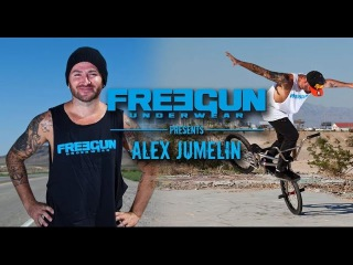 Alex Jumelin at Flatland Bmx Pro World Circuit 2015 round 1 FINAL and Qualification