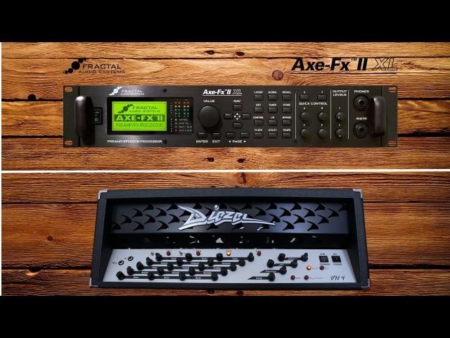 Fractal Audio Axe-Fx II XL vs. Diezel VH4s | Gibson Les Paul vs. Siggi Braun | Comparison