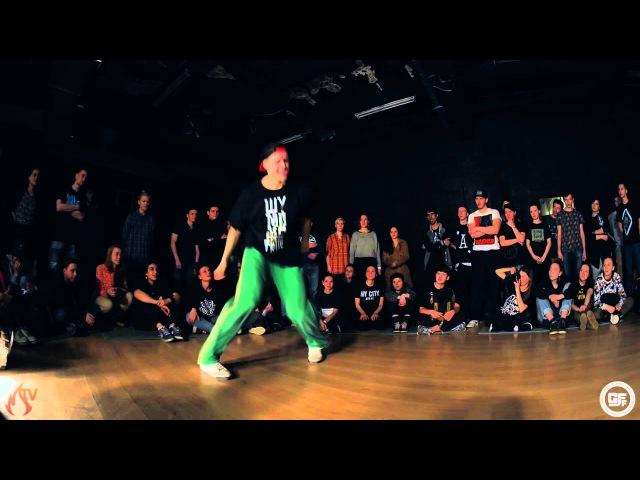 GFF Battle Hip-Hop Pro Final Kadet vs. Dam`en(win)