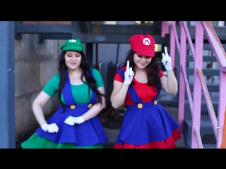 Бекстейдж Марио и Луиджи :D