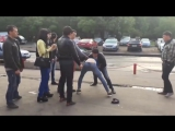Уличная Драка Кыргыз Задушил Русского