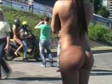 Jennifer S & Eliza Nude in Public 3 & 4