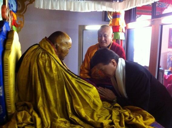 В Бурятии определили дни поклонения в 2016 году нетленному телу Пандито Хамбо ламы Итигэлова