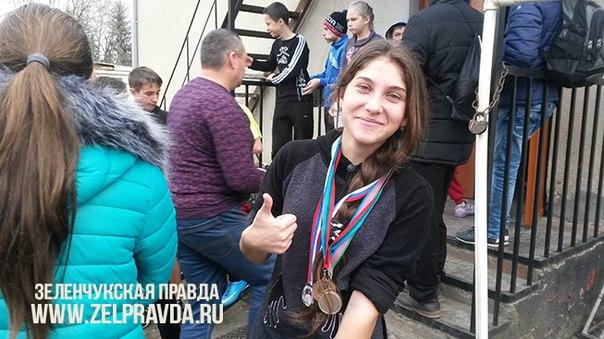 В станице Зеленчукской прошли соревнования по легкой атлетике посвященные новогодним и рождественским праздникам