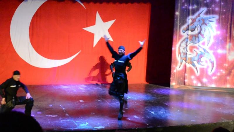 Georgian dance yazbeguri