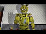 Фнаф 4 плюштрап vs кошмарных аниматроников (SFM)