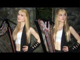 SWEET DREAMS (EurythmicsMarilyn Manson) Harp Twins - Camille and Kennerly HARP ROCK