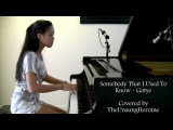 Somebody That I Used To Know - Gotye ft. Kimbra (Piano Cover)