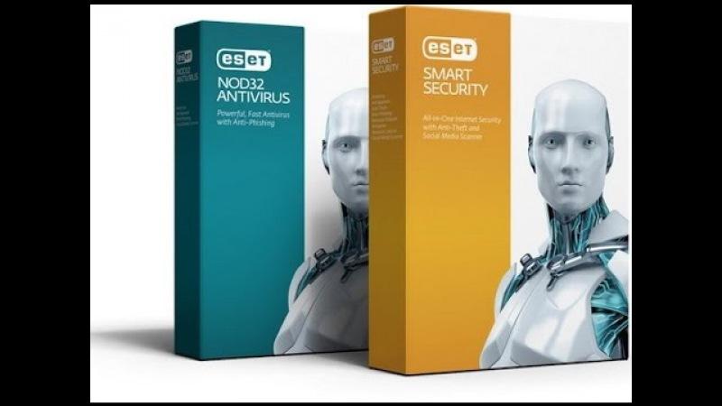Скачать, установить ESET Smart Security NOD32 Antivirus 9.0.375.1