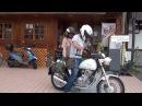 女性ライダーとタンデム Suzuki Volty スズキ ボルディー 限定カラー