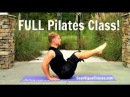 FULL 45 min Pilates Workout Video w/ Warm-Up Cool Down from Sean Vigue Fitness pilatesworkout