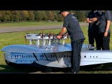 DORNIER DO-X GIGANTIC RC SCALE 110 MODEL 60 KG FLYING BOAT FLIGHT DISPLAY  RC Airshow Hausen 2015