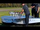 DORNIER DO-X GIGANTIC RC SCALE 1:10 MODEL 60 KG FLYING BOAT FLIGHT DISPLAY / RC Airshow Hausen 2015