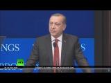 Охрана Эрдогана против журналистов фейсконтроль перед выступлением президента Турции в Вашингтоне