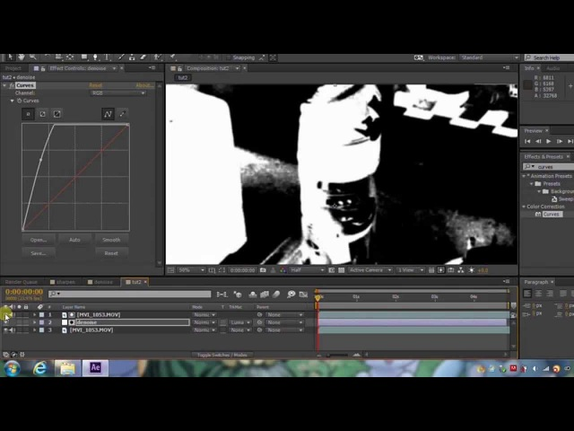 Remove noise from your footage QUICKLY and without any plugins!!