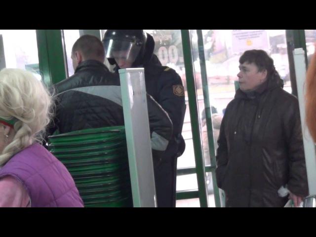 Правильный охранник магазина защитница пенсионерка и снова милиция