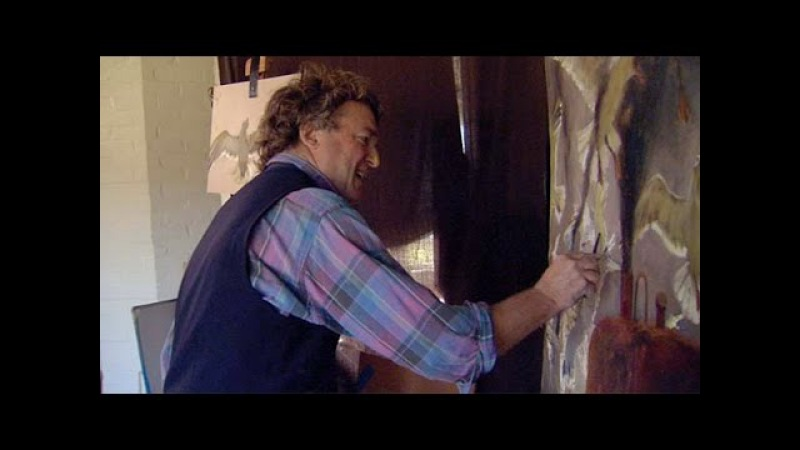 Jamie Wyeth Paints Inferno - See the Artist's Process