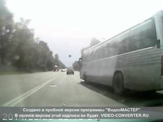 пьяный водитель детского автобуса в твери